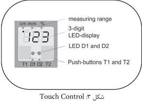 تاچ کنترل سنسور التراسنیک